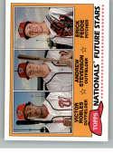 2018 Topps Archives Baseball 1981 Topps Future Stars Trios #FS-WAS Victor Robles/Andrew Stevenson/Erick Fedde Washington