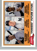 2018 Topps Archives Baseball 1981 Topps Future Stars Trios #FS-YAN Clint Frazier/Gleyber Torres/Miguel Andujar New York
