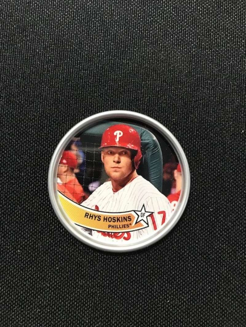 2018 Topps Archives Baseball 1980s Coins #C-22 Rhys Hoskins Philadelphia Phillies
