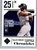 2018 Panini Chronicles #60 Gleyber Torres NM-MT New York Yankees