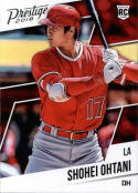 2018 Panini Chronicles Prestige #3 Shohei Ohtani Los Angeles Angels RC Rookie Card
