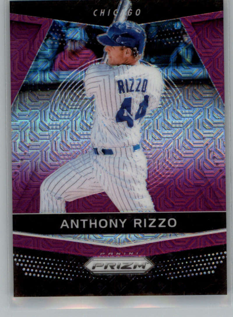 2018 Panini Chronicles Prizm Purple Mojo