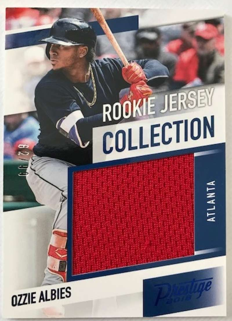 2018 Panini Chronicles Rookie Jersey Collection Blue