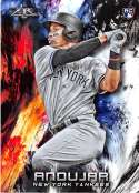 2018 Topps Fire Baseball #107 Miguel Andujar RC Rookie New York Yankees Target Exclusive MLB Trading Card