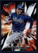 2018 Topps Fire Baseball #109 Ronald Acuna Jr. NM-MT RC Rookie Card Atlanta Braves  Target Exclusive MLB Trading Card
