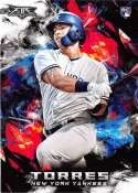 2018 Topps Fire Baseball #119 Gleyber Torres NM-MT RC Rookie Card New York Yankees  Target Exclusive MLB Trading Card