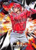 2018 Topps Fire Baseball #150 Shohei Ohtani NM-MT RC Rookie Card Los Angeles Angels  Target Exclusive MLB Trading Card