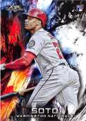2018 Topps Fire Baseball #181 Juan Soto NM-MT RC Rookie Card Washington Nationals  Target Exclusive MLB Trading Card