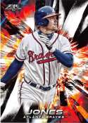 2018 Topps Fire #184 Chipper Jones NM-MT Atlanta Braves
