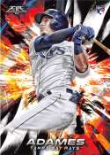 2018 Topps Fire #186 Willy Adames NM-MT RC Rookie Tampa Bay Rays