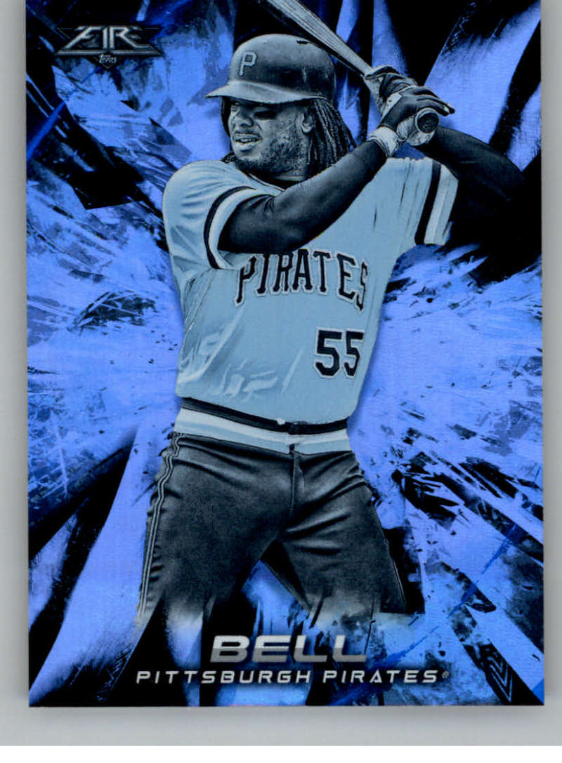 cb593ae436d41 2018 Topps Fire Blue Chip Baseball Checklist | Ultimate Cards and Coins