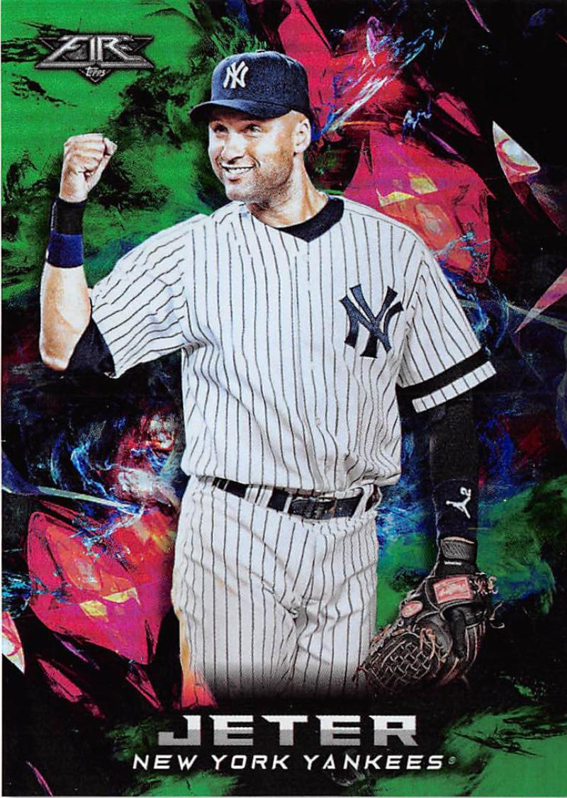 13b92cc485ef9 2018 Topps Fire Green Baseball Checklist | Ultimate Cards and Coins
