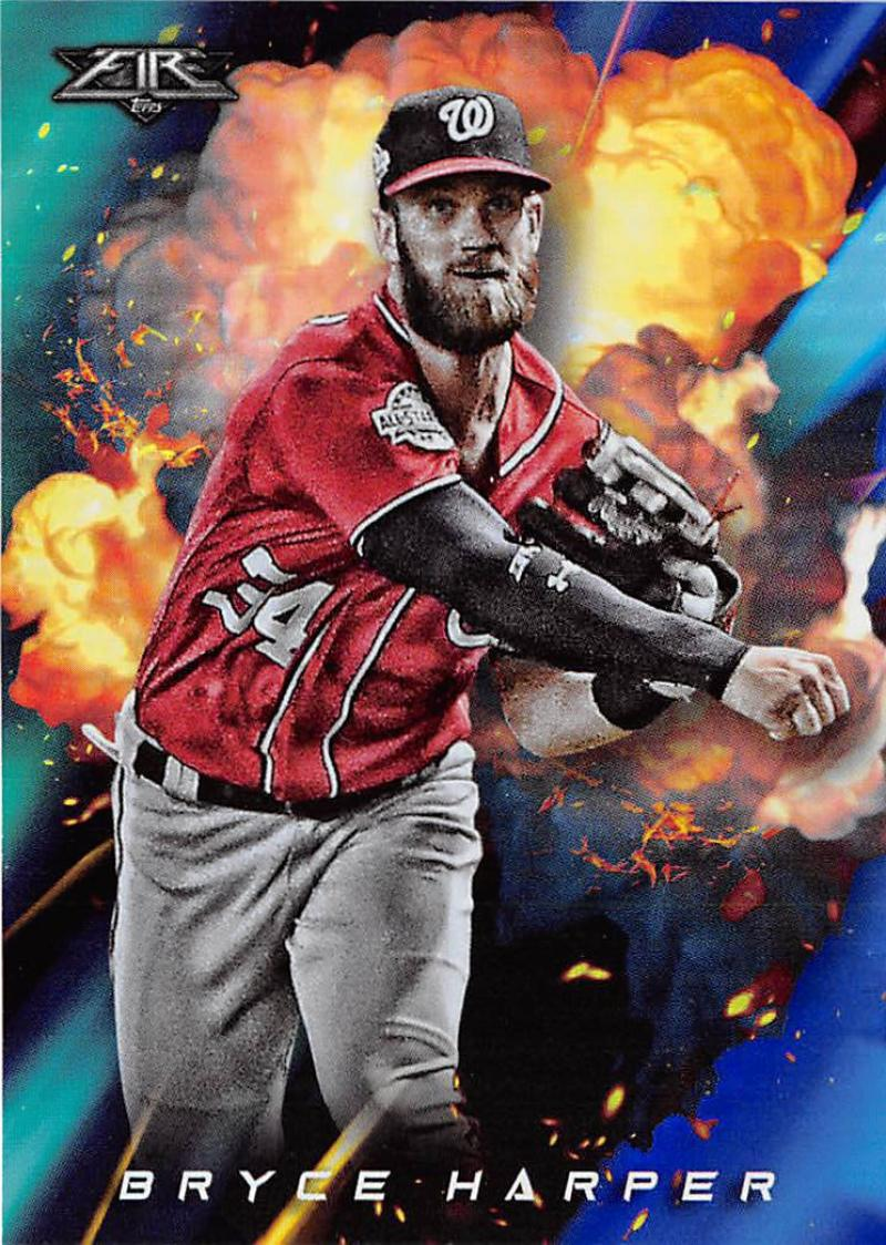2018 Topps Fire Cannons