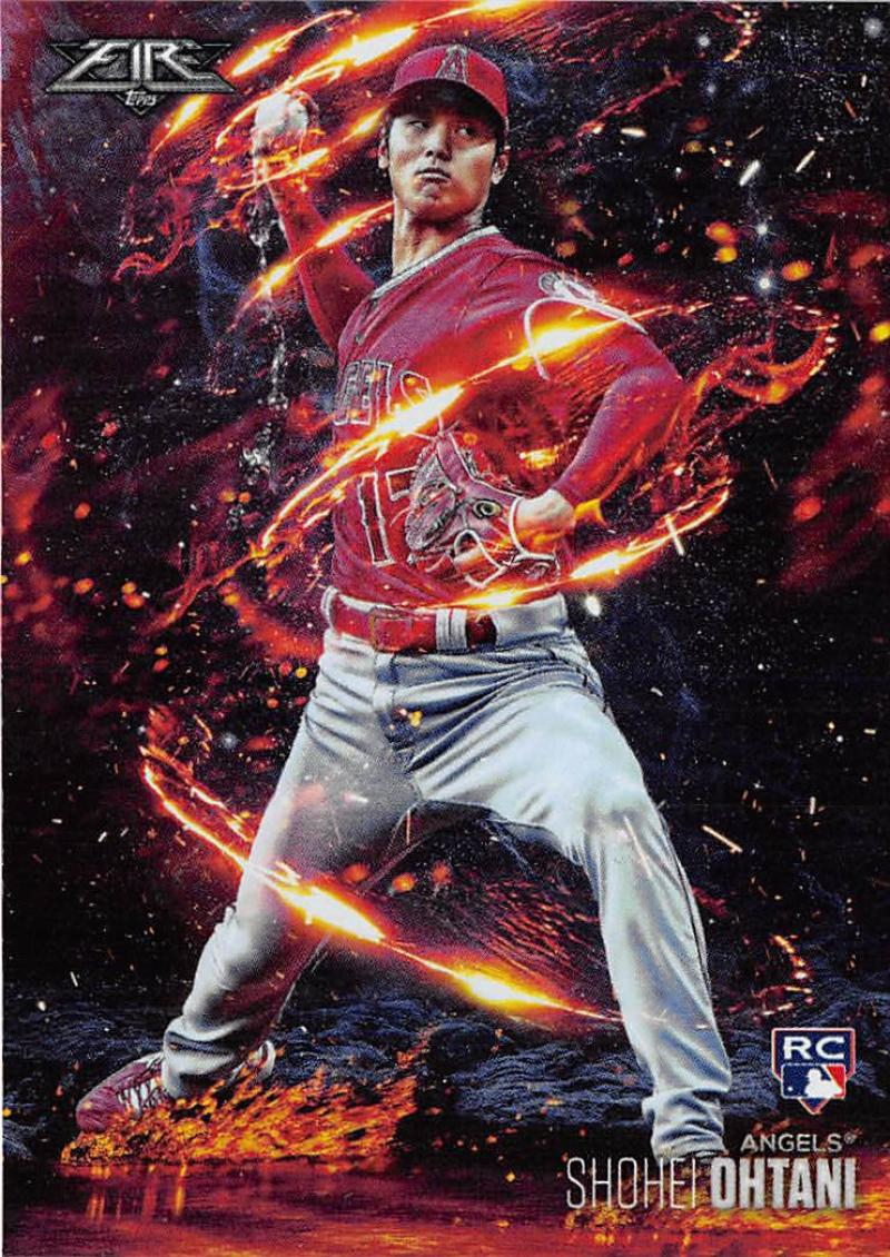 2018 Topps Fire Flamethrowers