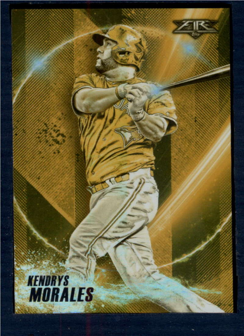 2018 Topps Fire Power Producers Gold Mint