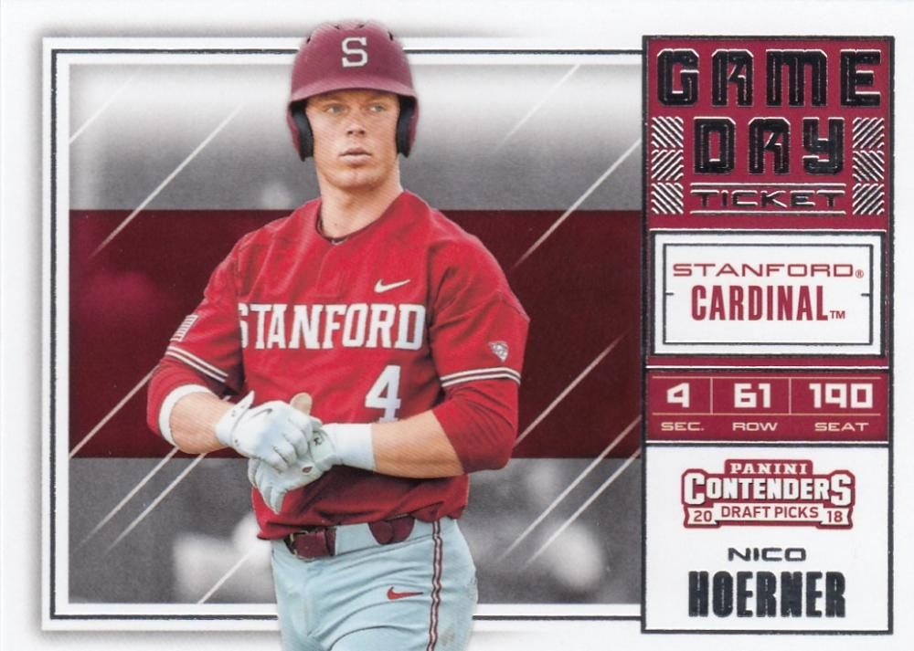2018 Panini Contenders Draft Picks Game Day Tickets