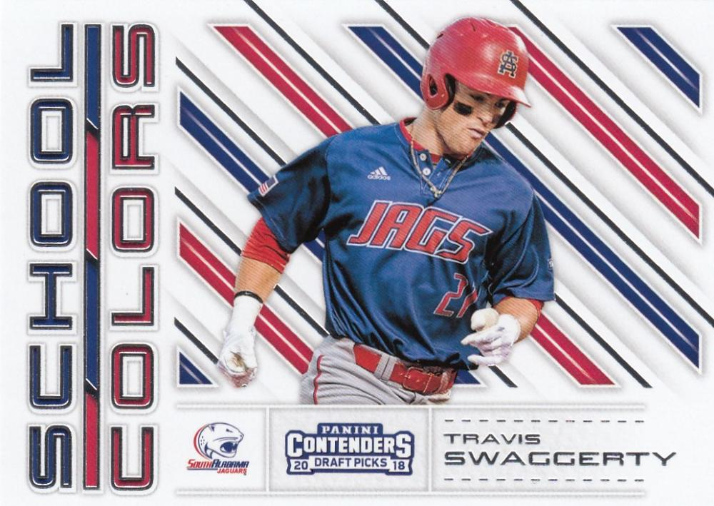 2018 Panini Contenders Draft Picks School Colors
