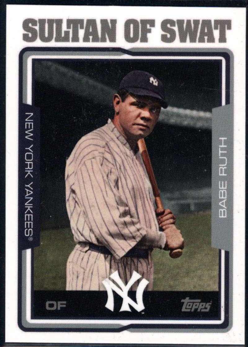 2018 Topps Throwback Thursday Nicknames 2005 Baseball Design