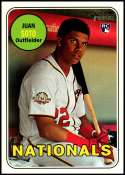 2018 Topps Heritage High Number Baseball #502 Juan Soto RC Rookie Washington Nationals  Official MLB Trading Card