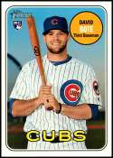 2018 Topps Heritage High Number #540 David Bote NM-MT RC Rookie Chicago Cubs