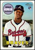 2018 Topps Heritage High Number #580 Ronald Acuna Jr. NM-MT RC Atlanta Braves
