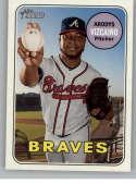 2018 Topps Heritage High Number #717 Arodys Vizcaino NM-MT SP Atlanta Braves