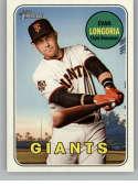 2018 Topps Heritage High Number #725 Evan Longoria NM-MT SP San Francisco Giants