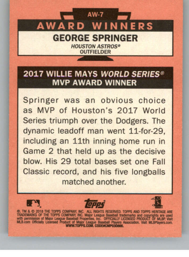 2018-Topps-Heritage-High-Number-Baseball-Insert-Singles-Pick-Your-Cards thumbnail 49