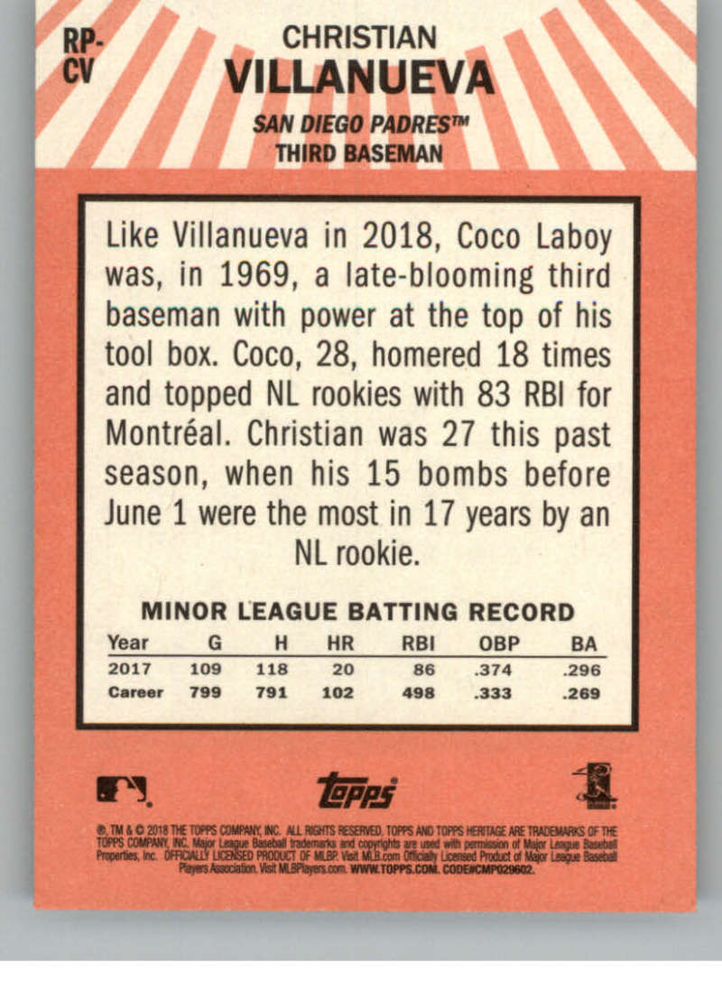 2018-Topps-Heritage-High-Number-Baseball-Insert-Singles-Pick-Your-Cards thumbnail 7