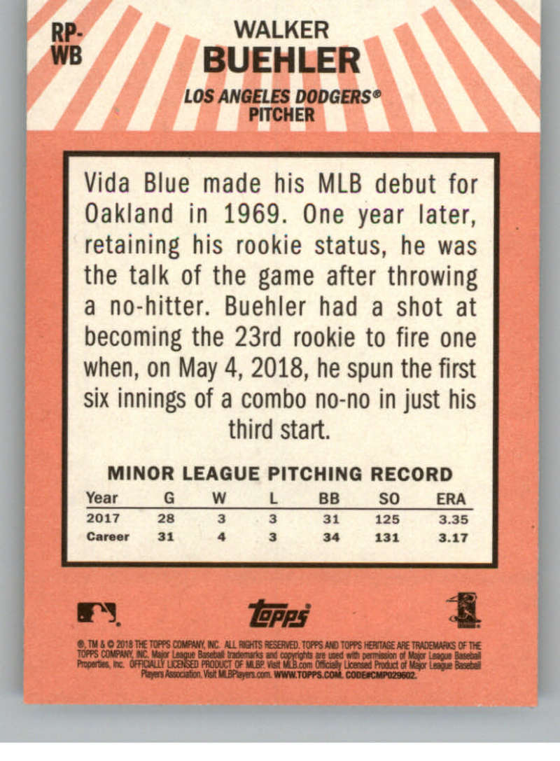 2018-Topps-Heritage-High-Number-Baseball-Insert-Singles-Pick-Your-Cards thumbnail 29