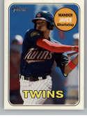 2018 Topps Heritage Minor League Baseball #212 Wander Javier SP Short Print Elizabethton Twins  Official MILB Trading Card