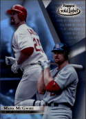2018 Topps Gold Label Rare Class 3 (Three) #89 Mark McGwire St. Louis Cardinals Official Baseball Trading Card