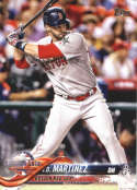 2018 Topps Update #US23 J.D. Martinez NM-MT Boston Red Sox