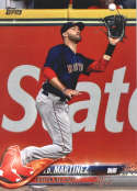 2018 Topps Update #US195 J.D. Martinez NM-MT Boston Red Sox