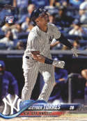 2018 Topps Update and Highlights Baseball Series #US200 Gleyber Torres RC Rookie New York Yankees  Official MLB Trading Card