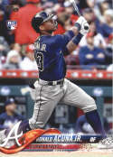 2018 Topps Update and Highlights Baseball Series #US250 Ronald Acuna Jr. RC Rookie Atlanta Braves  Official MLB Trading Card