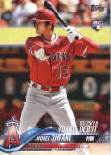 2018 Topps Update #US285 Shohei Ohtani NM-MT RC Los Angeles Angels  Official MLB Baseball Card
