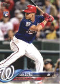 2018 Topps Update #US300 Juan Soto NM-MT RC Washington Nationals  Official MLB Baseball Card
