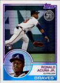 2018 Topps 83 Chrome Silver Promo Series 3 #101 Ronald Acu�a Jr. NM+ RC Rookie