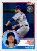 2018 Topps Update 1983 Chrome Silver Wrapper #104 Jacob deGrom New York Mets  MLB Baseball Trading Card