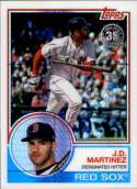 2018 Topps 83 Chrome Silver Promo Series 3 #114 J.D. Martinez NM+