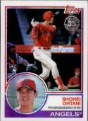 2018 Topps 83 Chrome Silver Promo Series 3 #145 Shohei Ohtani NM+ RC Rookie