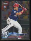 2018 Topps Chrome Update Baseball #HMT55 Juan Soto RC Rookie Card Washington Nationals  Official MLB Trading Card