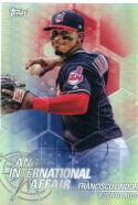 2018 Topps Chrome Update An International Affair #IA-FL Francisco Lindor NM-MT Cleveland Indians