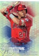 2018 Topps Chrome Update An International Affair #IA-MT Mike Trout NM-MT Los Angeles Angels