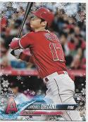 2018 Topps Holiday #HMW17 Shohei Ohtani NM-MT RC Los Angeles Angels Official MLB Trading Card