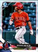 2018 Bowman Draft Baseball Chrome Refractor #BDC-77 Drevian Williams-Nelson Los Angeles Angels