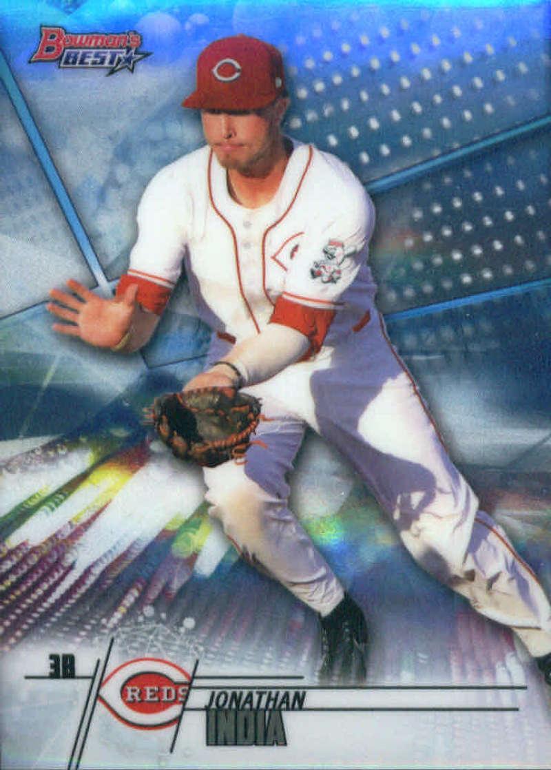 2018 Bowman's Best Baseball #TP-14 Jonathan India Cincinnati Reds  MLB Trading Card made by Topps Company