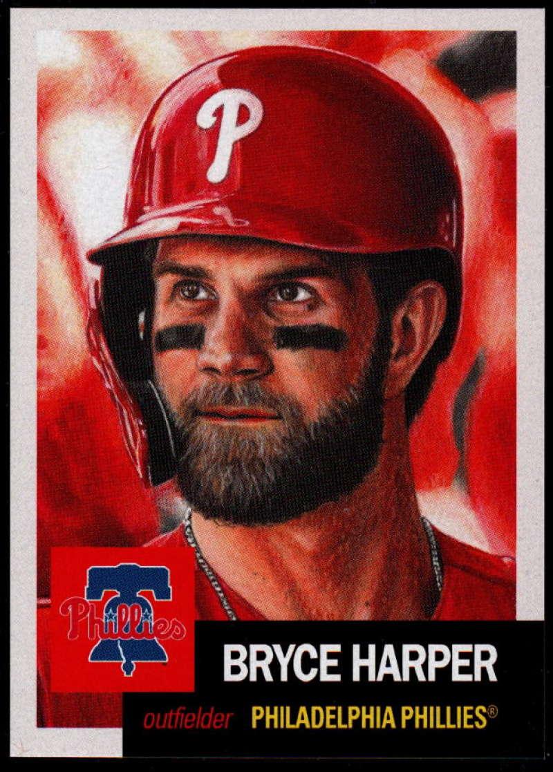 2019 Topps MLB The Living Set #163 Bryce Harper Philadelphia Phillies