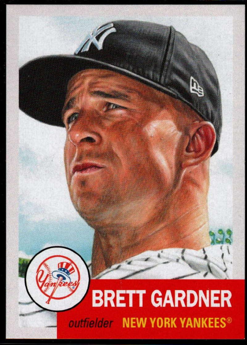 2019 Topps MLB The Living Set #198 Brett Gardner New York Yankees